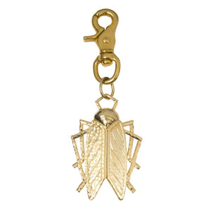 Goldbug Swivel Clip Key Fob