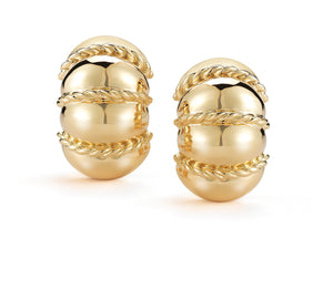 Seaman Schepps Shrimp Earrings