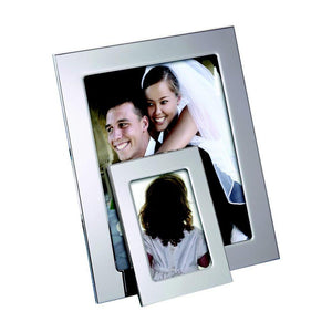 Silhouette 8 x 10 Silver-Plate Picture Frame