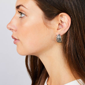 Grainger McKoy Wide Feather Earrings