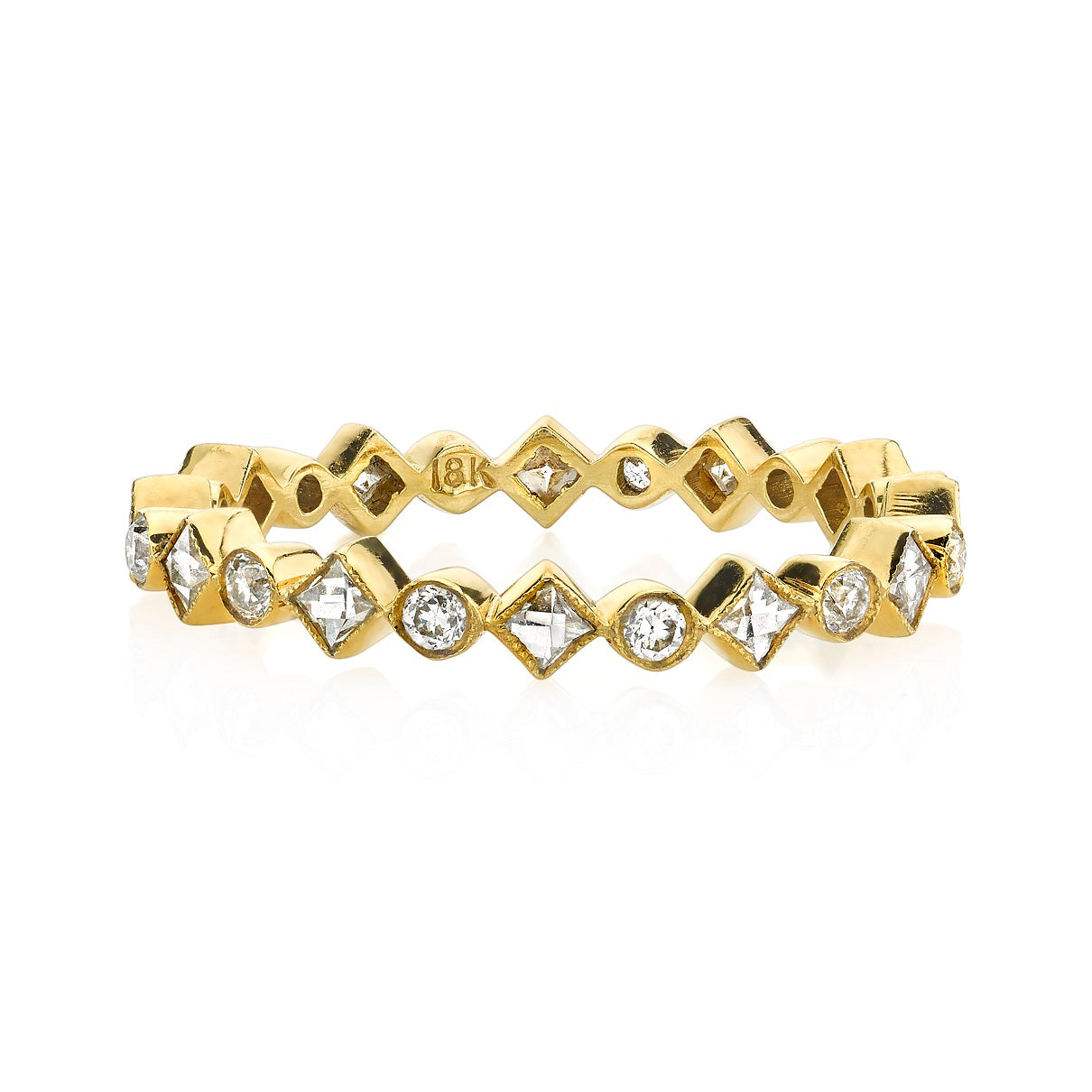 Single Stone Albany Eternity Band