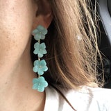 Tradd Street Multi-Flower Drop Earrings