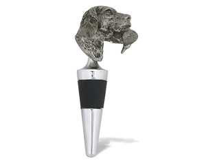 Labrador Retriever & Duck Bottle Stopper
