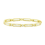 Freida Rothman Baguette Bar Hinge Bangle