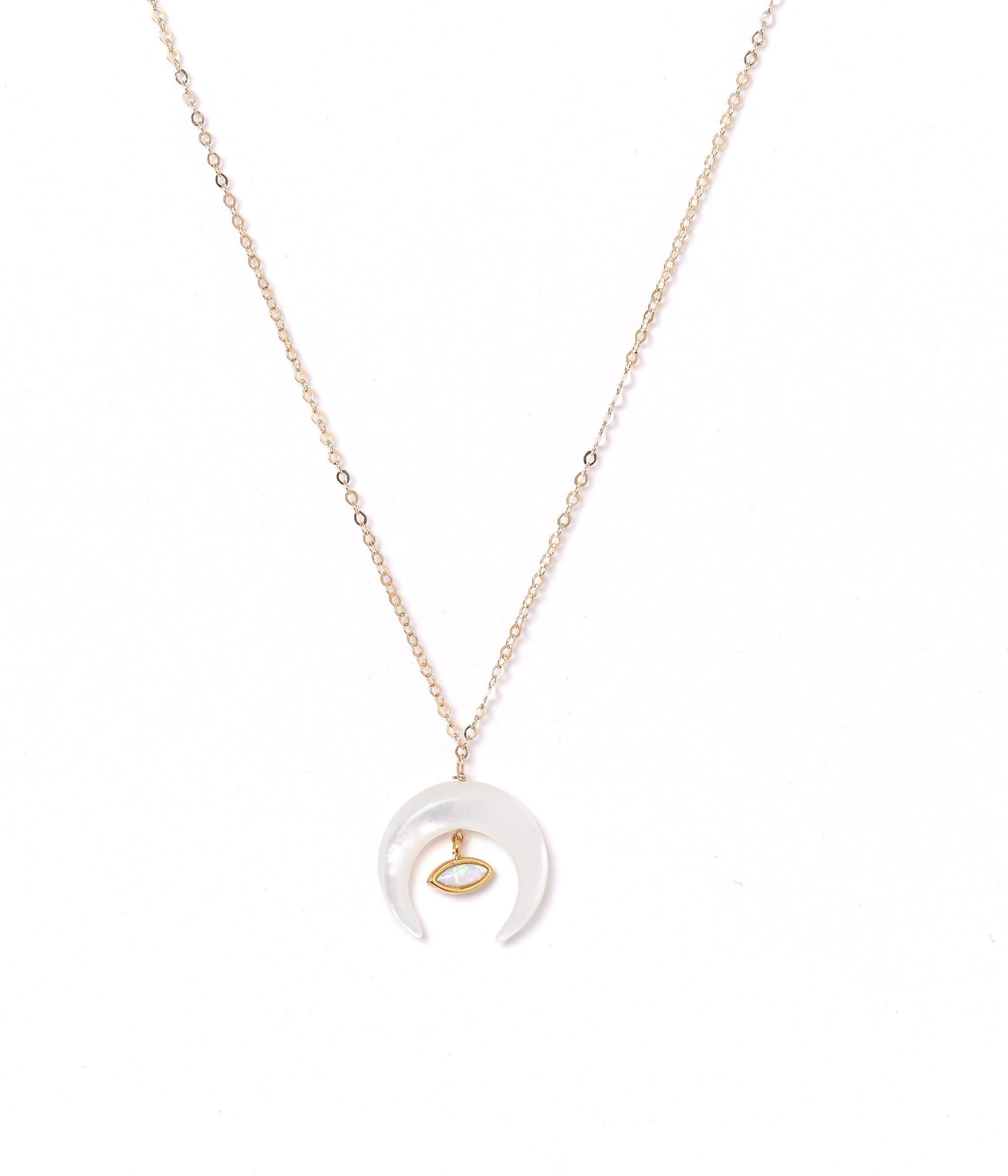 Gold-Filled Brillar Pendant Necklace