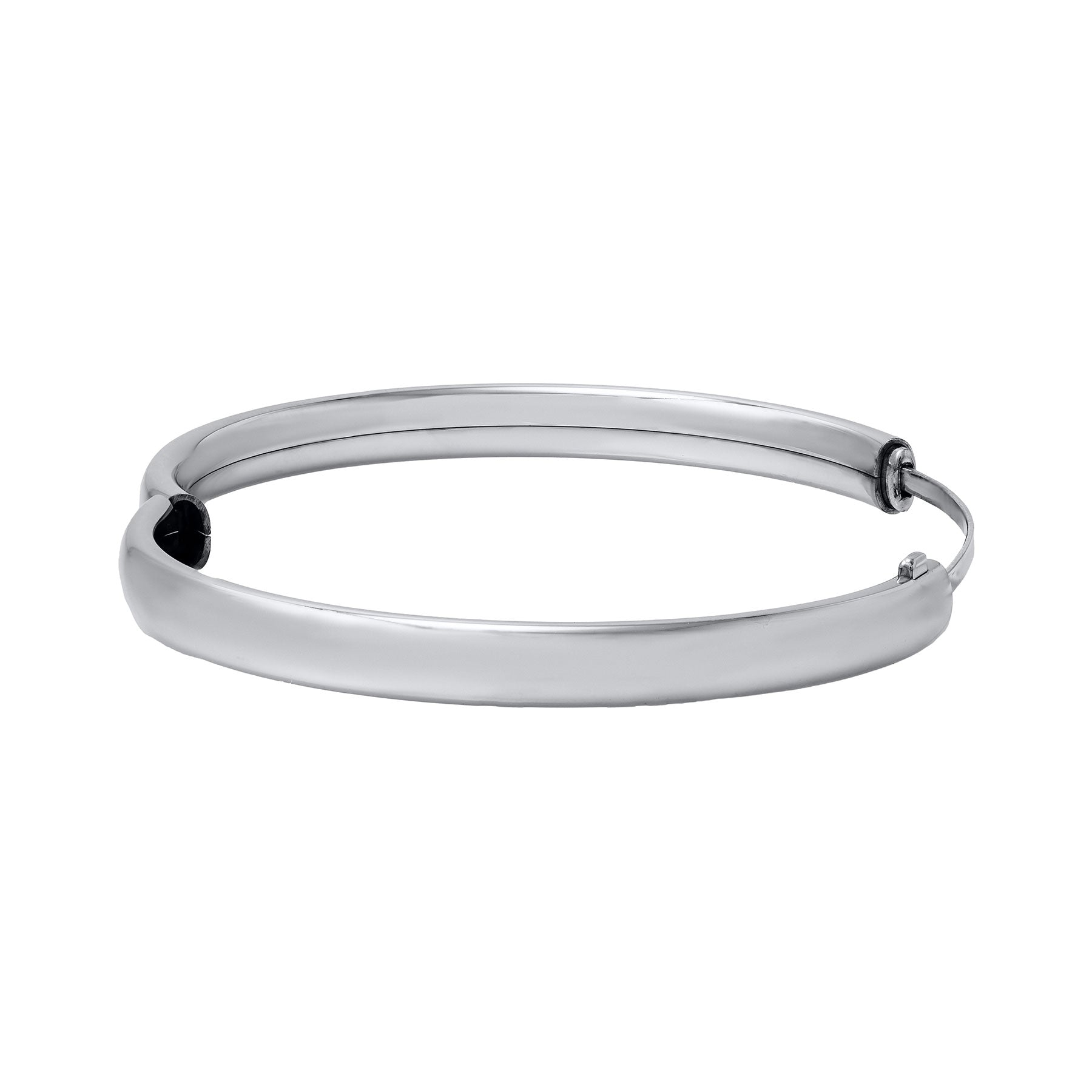 Child Sterling Silver Plain 5mm Bangle