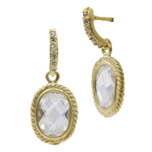 Freida Rothman Tiny Raindrop Earrings