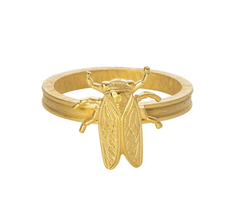 Goldbug Napkin Ring