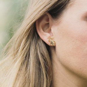 Goldbug Stud Earrings