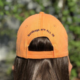Goldbug Clemson Orange Purple 'All In' Classic Baseball Cap Hat