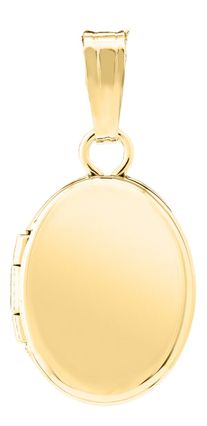 Baby 14K Gold-Filled Oval Locket Necklace