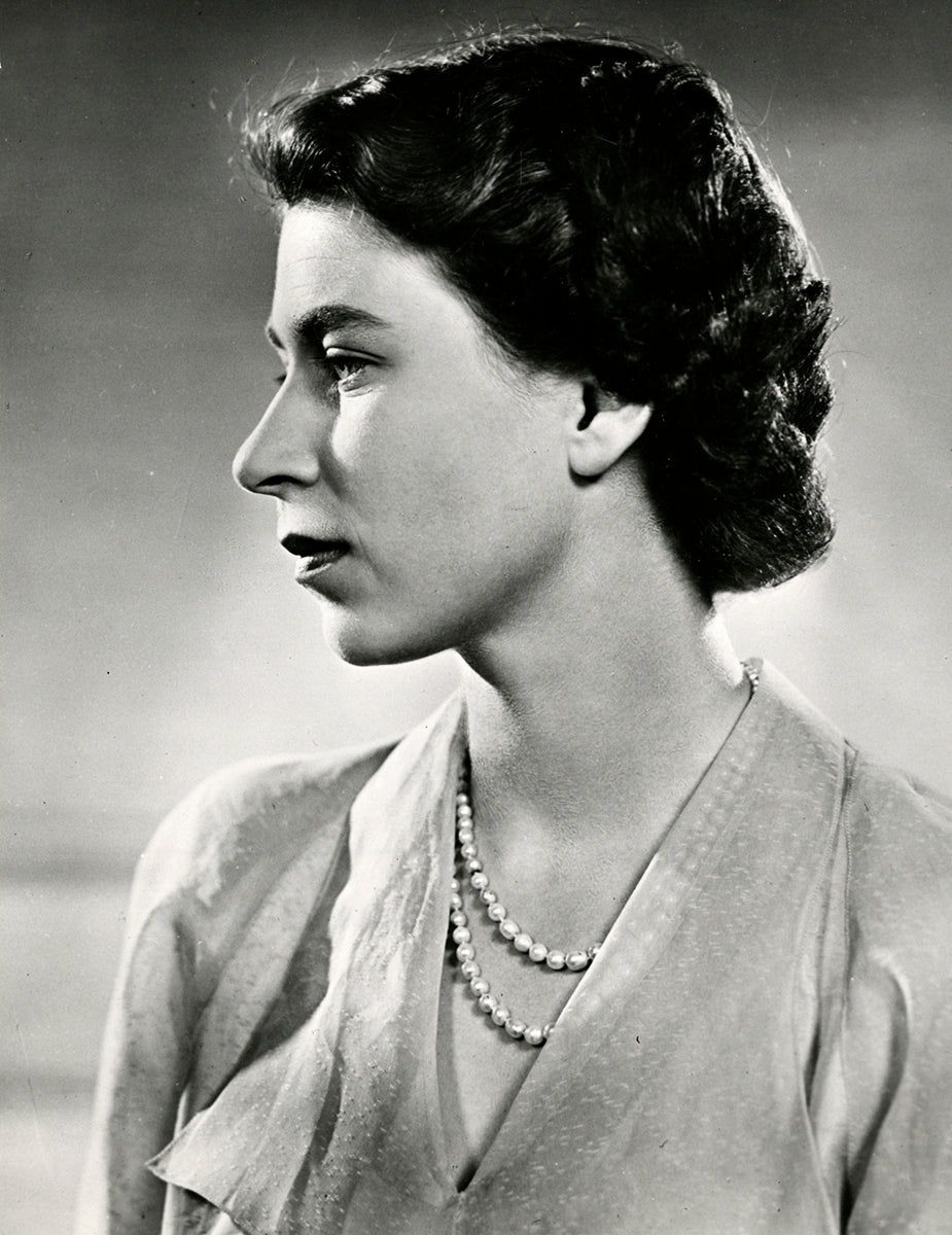 Queen Elizabeth II, July 1951  | Foto: Yousuf Karsh | OstLicht Vintage Photo Sale