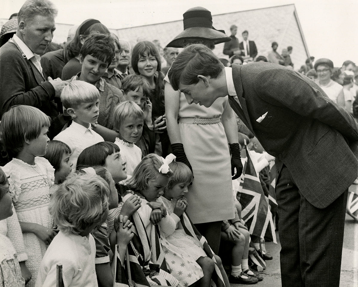 Prince Charles, Scilly-Inseln, August 1967 | OstLicht Vintage Photo Sale