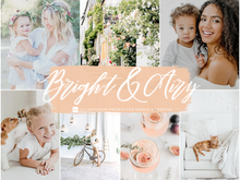Load image into Gallery viewer, Bright and Airy Lightroom Presets