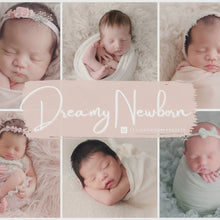 Load and play video in Gallery viewer, Dreamy Newborn Lightroom Presets