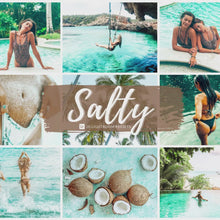 Load and play video in Gallery viewer, Salty Beach Lightroom Presets