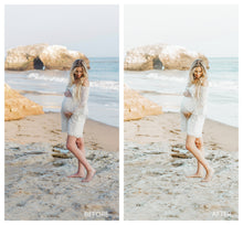 Load image into Gallery viewer, Maternity Beach Lightroom Presets
