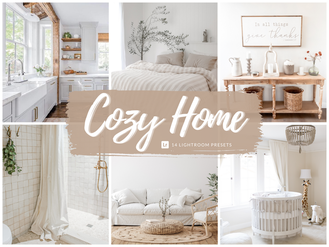 Cozy Home Lightroom Presets