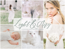 Load image into Gallery viewer, Light and Airy Lightroom Presets