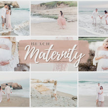 Load and play video in Gallery viewer, Maternity Beach Lightroom Presets