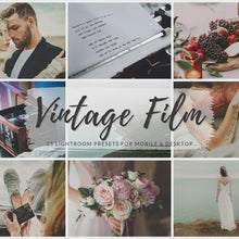 Load and play video in Gallery viewer, Vintage Film Lightroom Presets