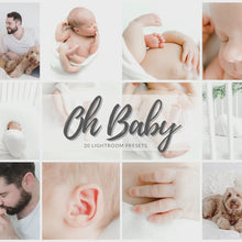 Load and play video in Gallery viewer, Oh Baby Lifestyle Newborn Lightroom Presets