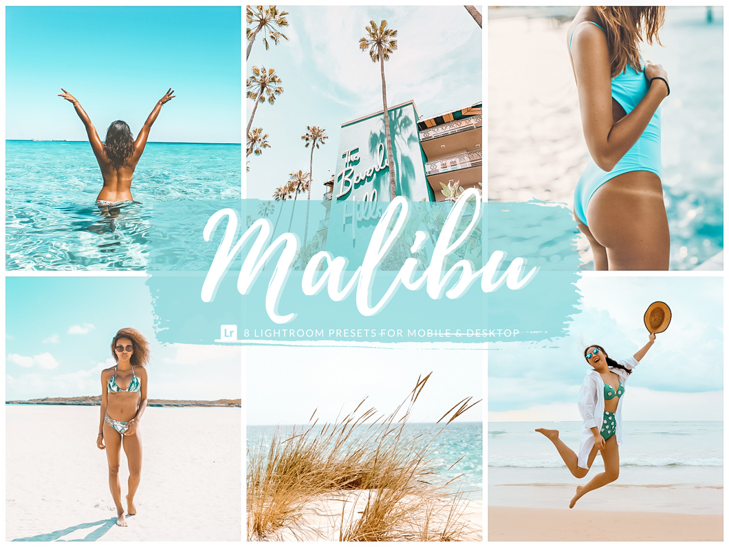 Malibu Tropical Lightroom Presets