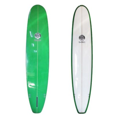 8'0 Green Clyde Beatty Surfboard Mal