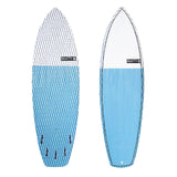 6'2 Blue Clyde Beatty Epoxy Fish Surfboard