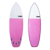 Clyde Beatty 6'6 Pink Epoxy Fish Surfboard