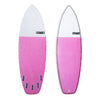 6'4 Clyde Beatty Pink Epoxy Fish Surfboard