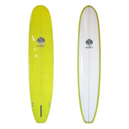 7'2 Yellow Clyde Beatty Mini Mal Surfboard