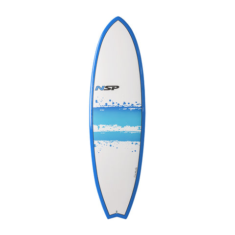 NSP 03 Elements Fish Surf VC 6'4 Blue LTD