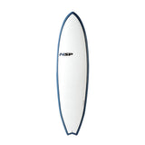 NSP 06 Elements HDT Fish 6'4 White