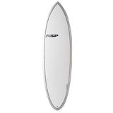 NSP Elements Hybrid Short 6'4 White