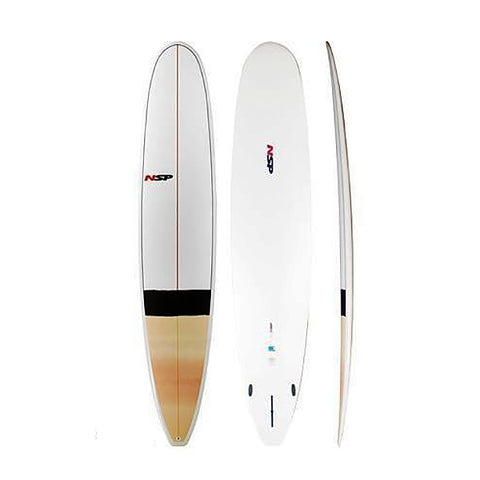 NSP Longboard Surfboard 10'2 ft