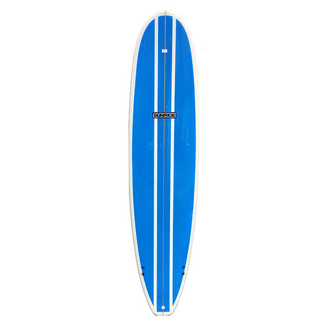 7'6 Sunride Surfboard Mal Blue Panel