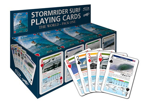 The Stormrider Surf 'Playing Cards' The World [Pack One]