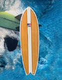 6ft 10 Fish Surfboard