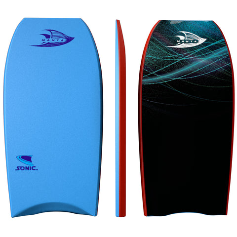 Bodyboard Bundle - Sky Blue