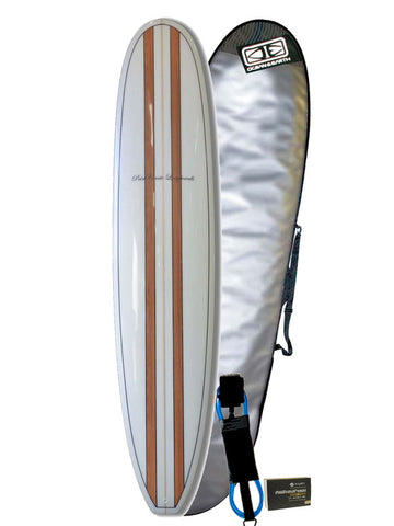 7'6 Beginner Surfboard Bundle