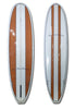 6ft 10 Woody Mini Malibu Surfboard