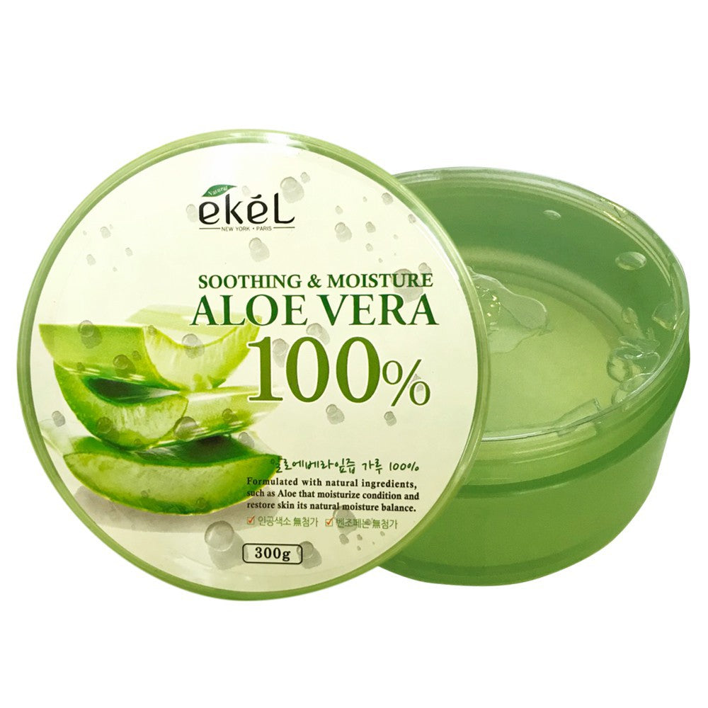 EKEL Aloe Vera 100% Soothing Gel 300ml