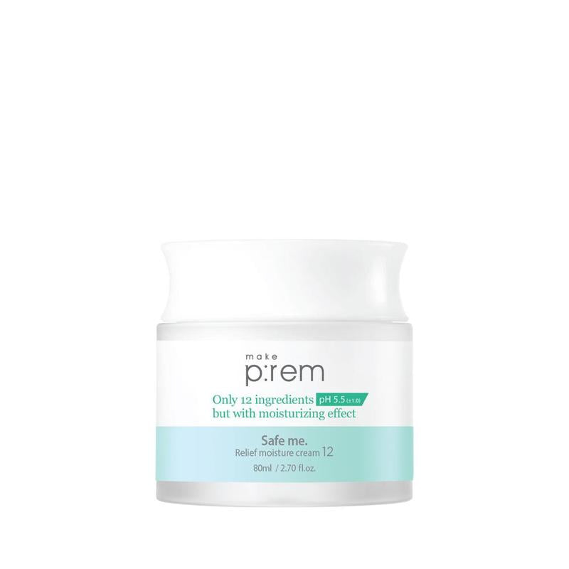 Make Prem Safe Me Relief Moisture Cream 12 10ml / 80ml