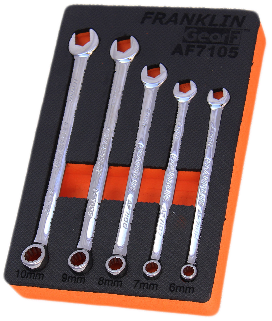 Gear F Grip 4+ 5 pce 12 pt XL Combination Spanner Set