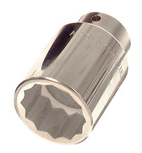 "Load image into Gallery viewer, Franklin 12 pt Bi-Hex Deep Plated Socket 1/2"" dr 36mm"