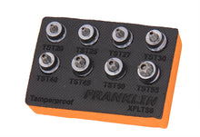 "Load image into Gallery viewer, Franklin XF 8 pce Low Profile Tamper Star Socket Set 3/8"" dr"
