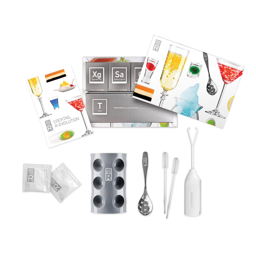 cocktail kit open