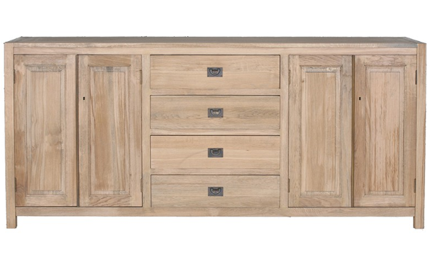 oak buffet