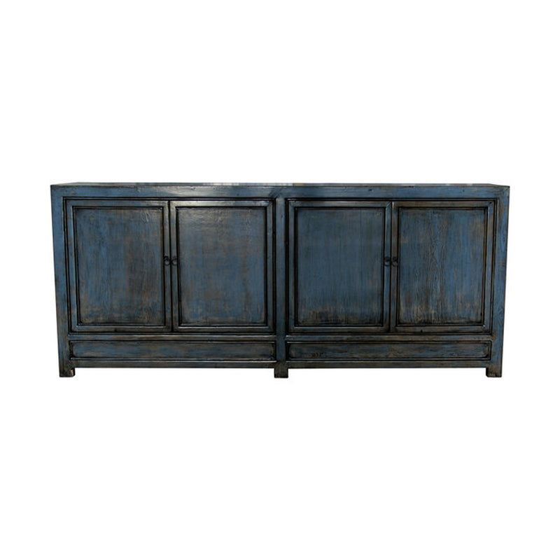 Blue/Grey Lacquered Sideboard